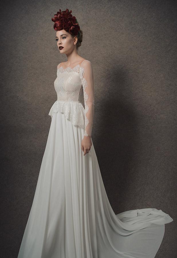 מפואר שמלות כלה להשכרה,שמלות כלה יד שנייה EG-75