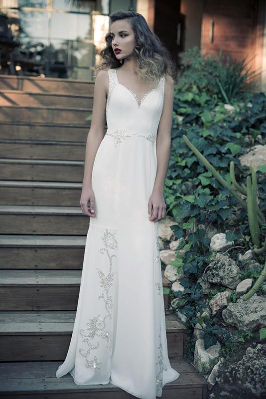Anne - שמלות כלה 2014 ארז עובדיה
