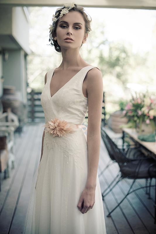 ארז עובדיה שמלות כלה 2014 - דגם Danielle