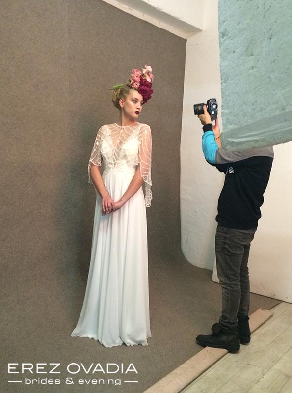 ארז עובדיה 2015 שמלות כלה, צילומי קטלוג